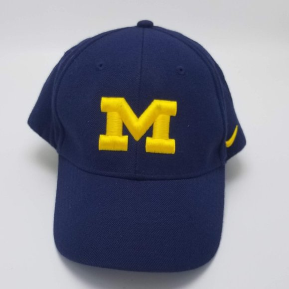 Nike Michigan Wolverines Baseball Fitted Hat